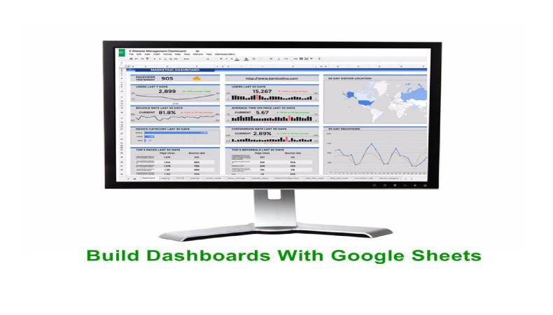 Build Dashboards With Google Sheets
