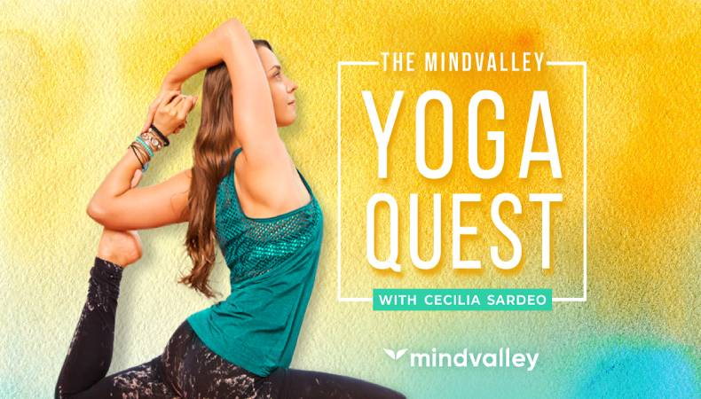 Mindvalley Yoga Quest with Cecilia Sardeo