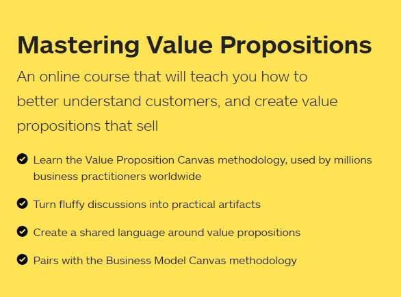 Mastering Value Propositions
